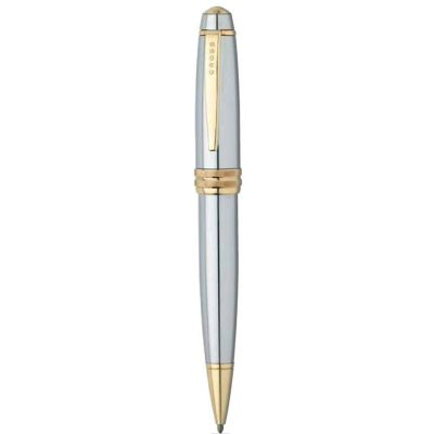 Bailey™ Medalist® Chrome & 23KT Gold Ballpoint Pen
