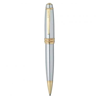 Bailey™ Medalist® Chrome & 23KT Gold Gel Rollerball Pen