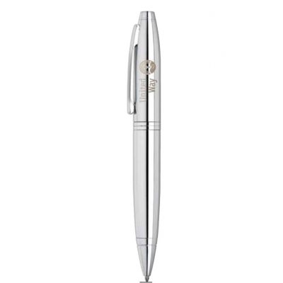 Calais™ Polished Chrome Ballpoint Pen