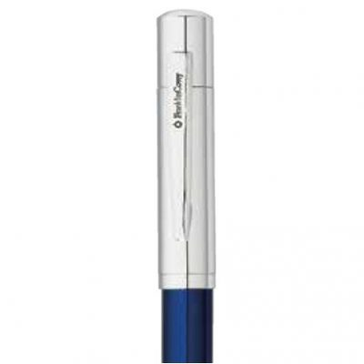 Franklin Covey® Greenwich Evening Blue Lacquer & Chrome Ballpoint Pen & Pencil Set
