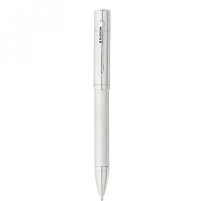 Franklin Covey® Greenwich Satin Chrome Ballpoint Pen & Pencil Set