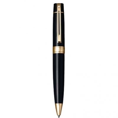 Sheaffer® 300 Glossy Black & Gold Ballpoint Pen
