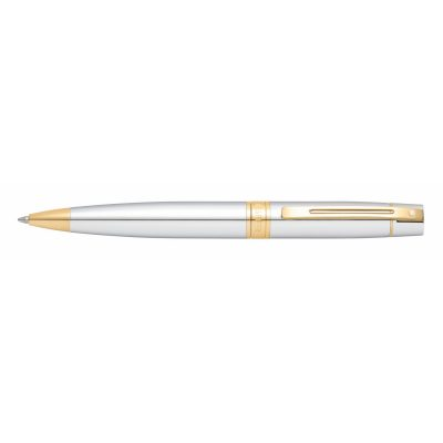 Sheaffer® 300 Chrome w/Gold Tone Ballpoint Pen